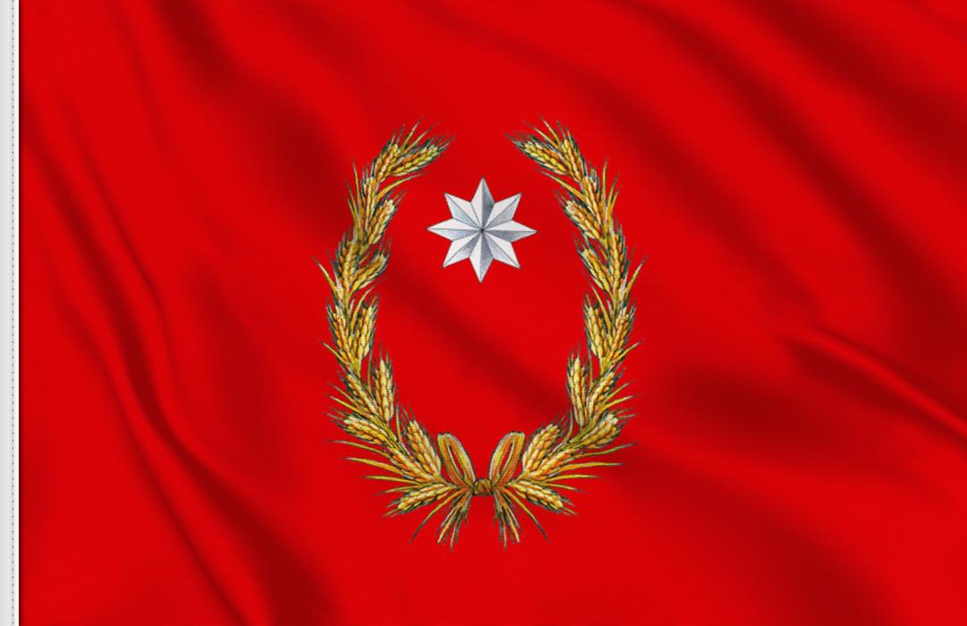 fahne Campobasso-Provinz, flagge der Provinz Campobasso
