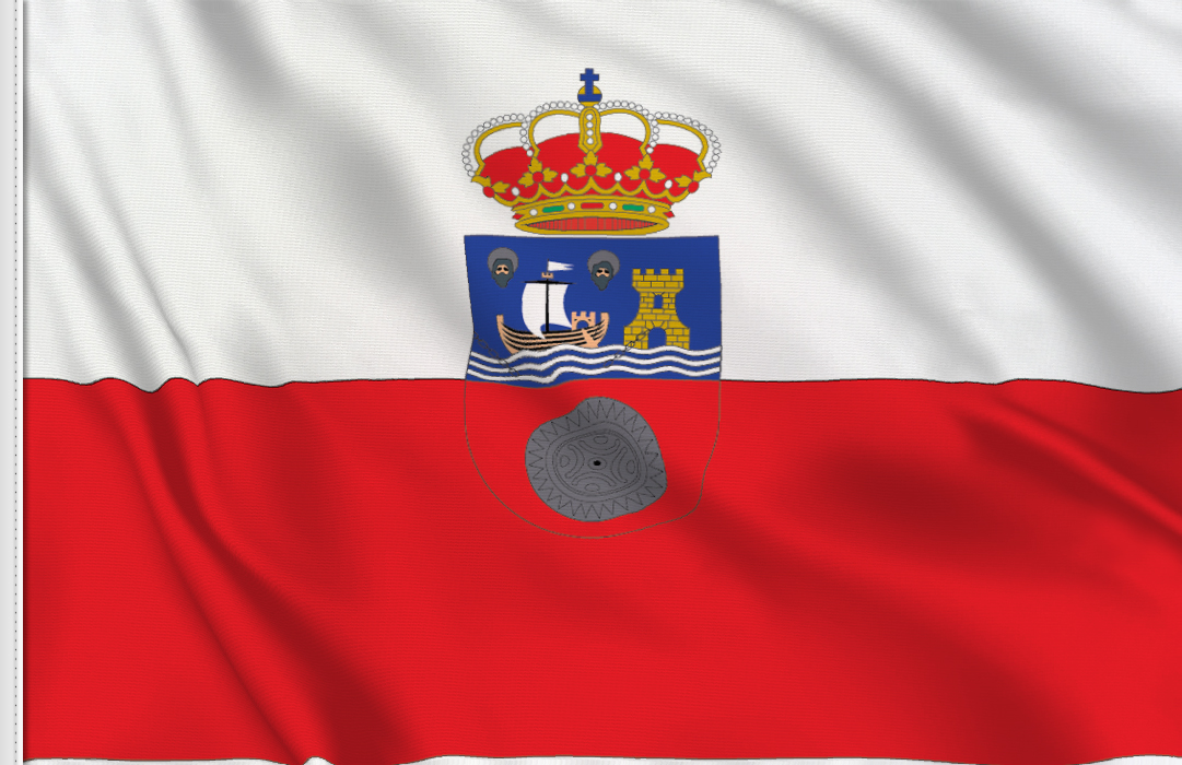flag sticker of Cantabria