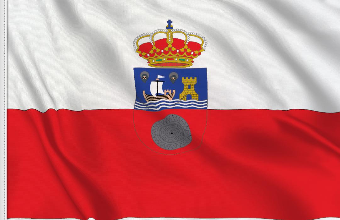 Flag sticker of Cantabria