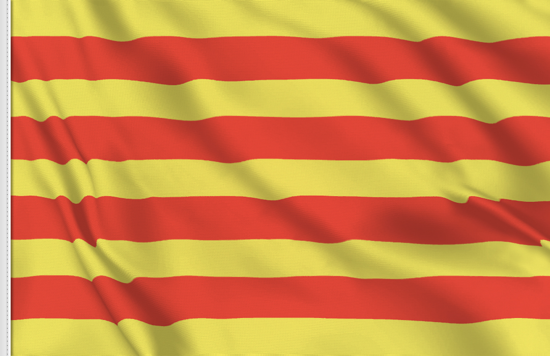 Catalunya table flag