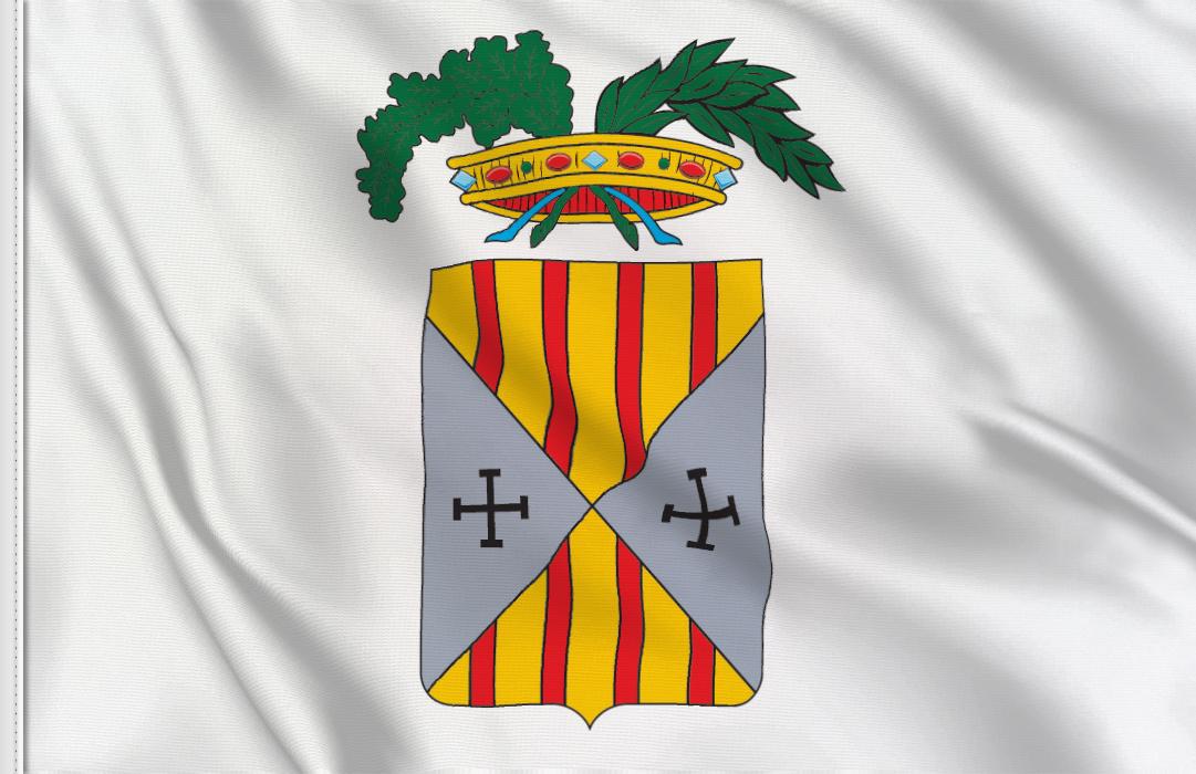 fahne Catanzaro Provinz, flagge von Catanzaro