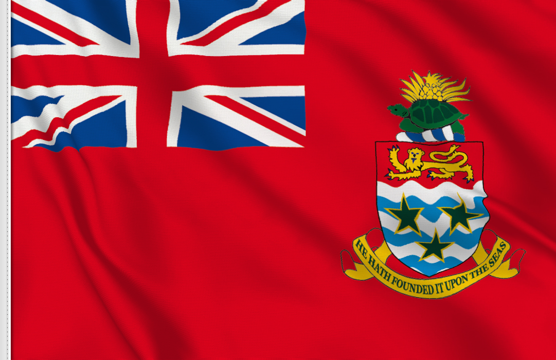 bandera adhesiva de Cayman Islands Civil Ensign