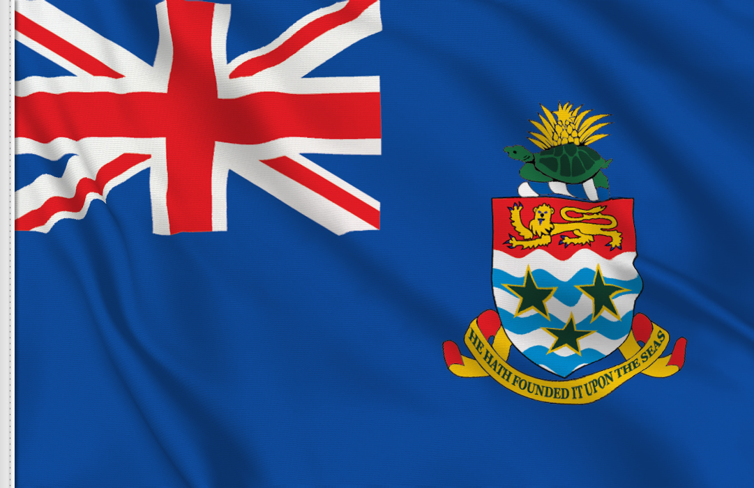 Cayman flag stickers