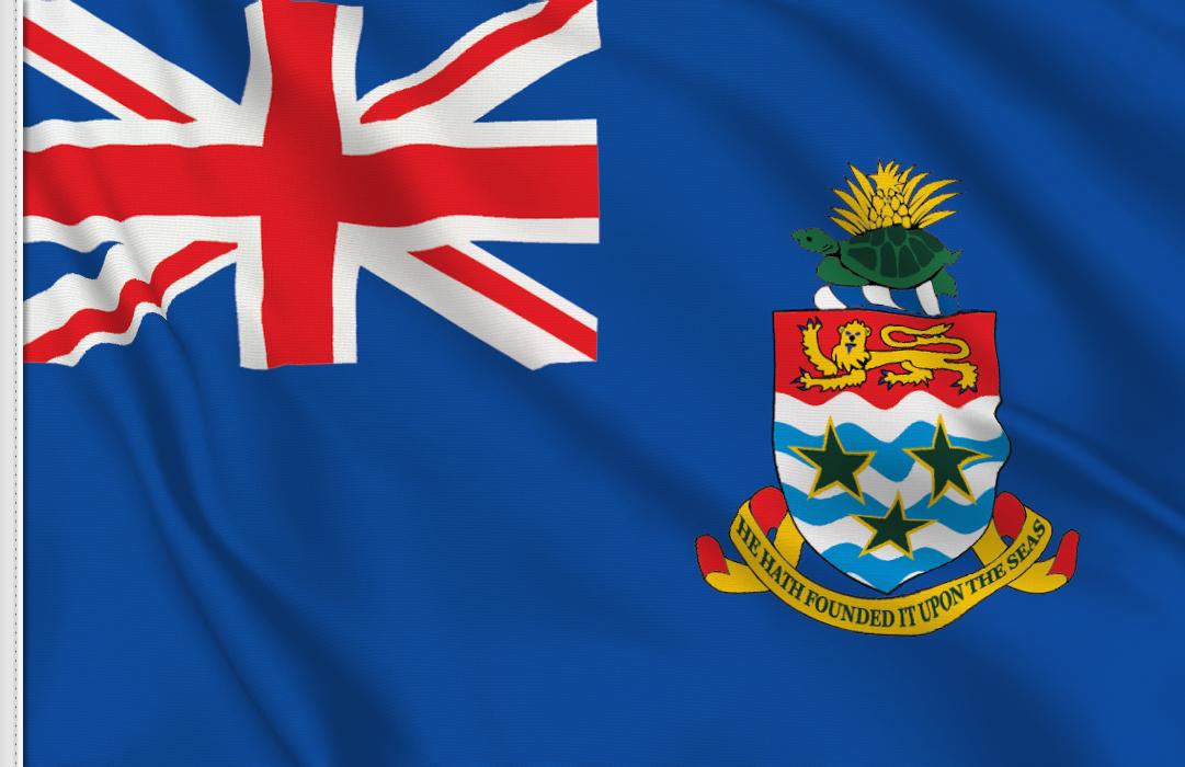Flag sticker of Cayman