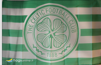 fahne Celtic Football Club offizielle, flagge von Celtic FC