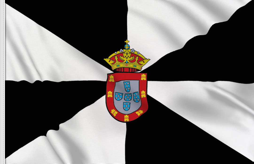 flag sticker of Ceuta