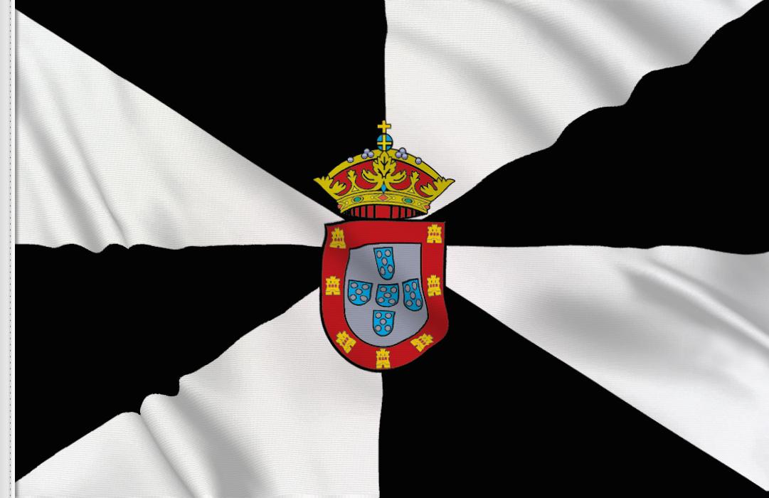 Flag sticker of Ceuta