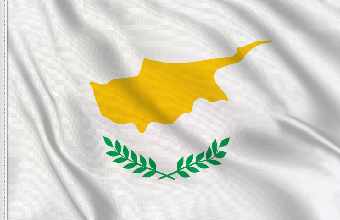 Cyprus flag stickers