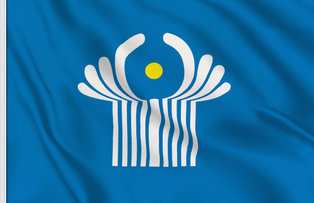 fahne GUS, flagge von GUS