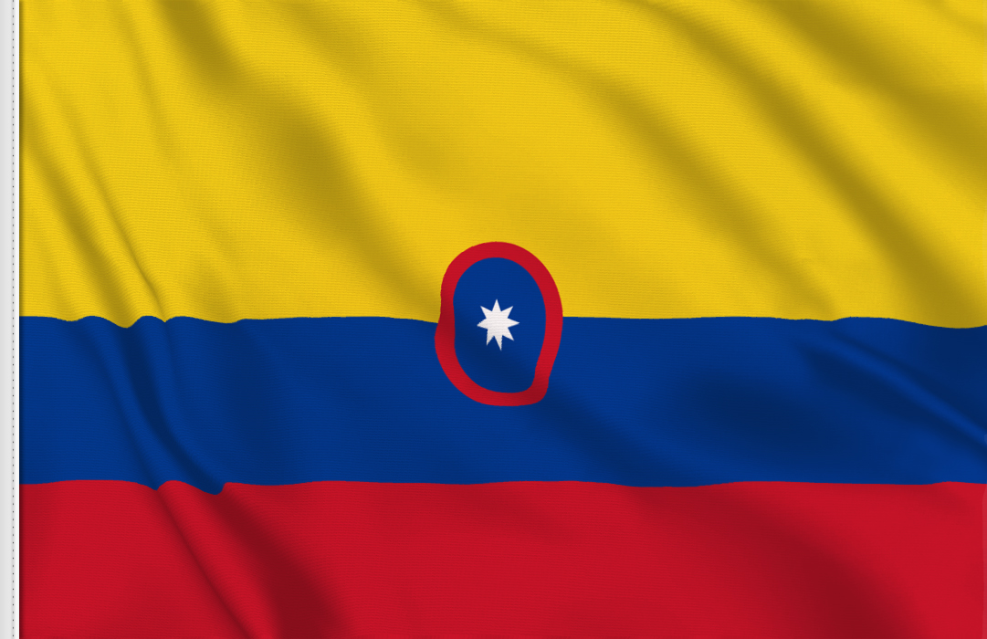 Colombia Civil Ensign flag