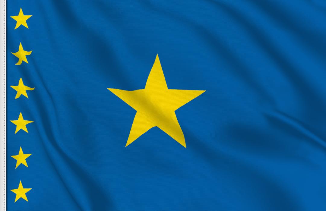 Congo 1960-1963 flag