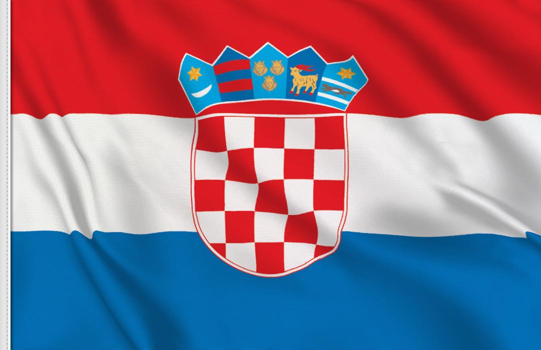 Bandiera Adesiva Croazia