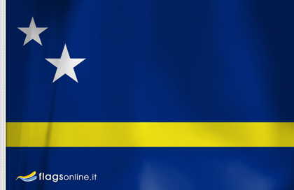 fahne Curacao, flagge von Curaçao
