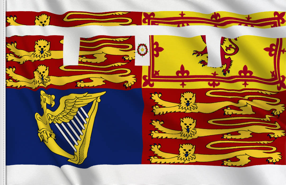 fahne Royal Standard der Earl of Wessex, flagge der Earl of Wessex