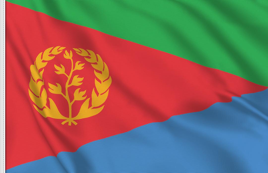 Bandiera Adesiva Eritrea