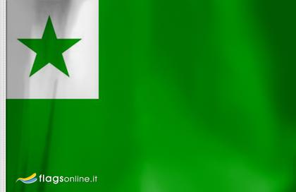 fahne Esperanto, flagge von Esperanto