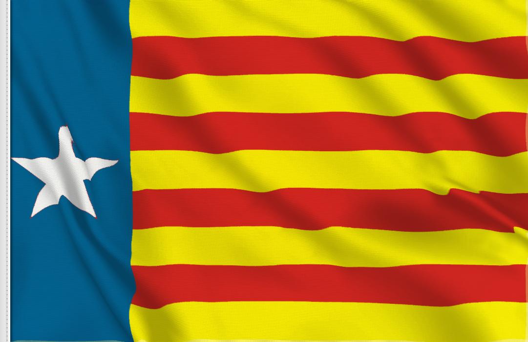Estelada valenciana table flag