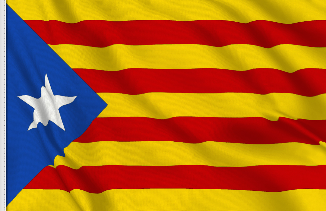flag sticker of Estelada