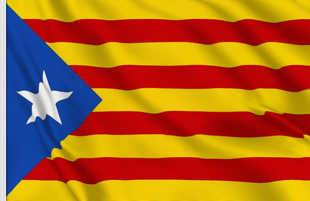Flag sticker of Estelada