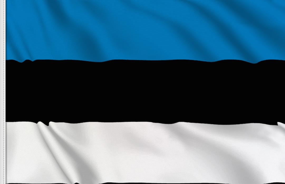 Bandiera Adesiva Estonia