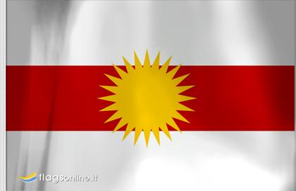 fahne Yeziden, flagge von Yazidism