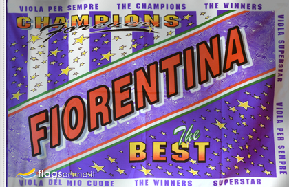 Fiorentina best flag