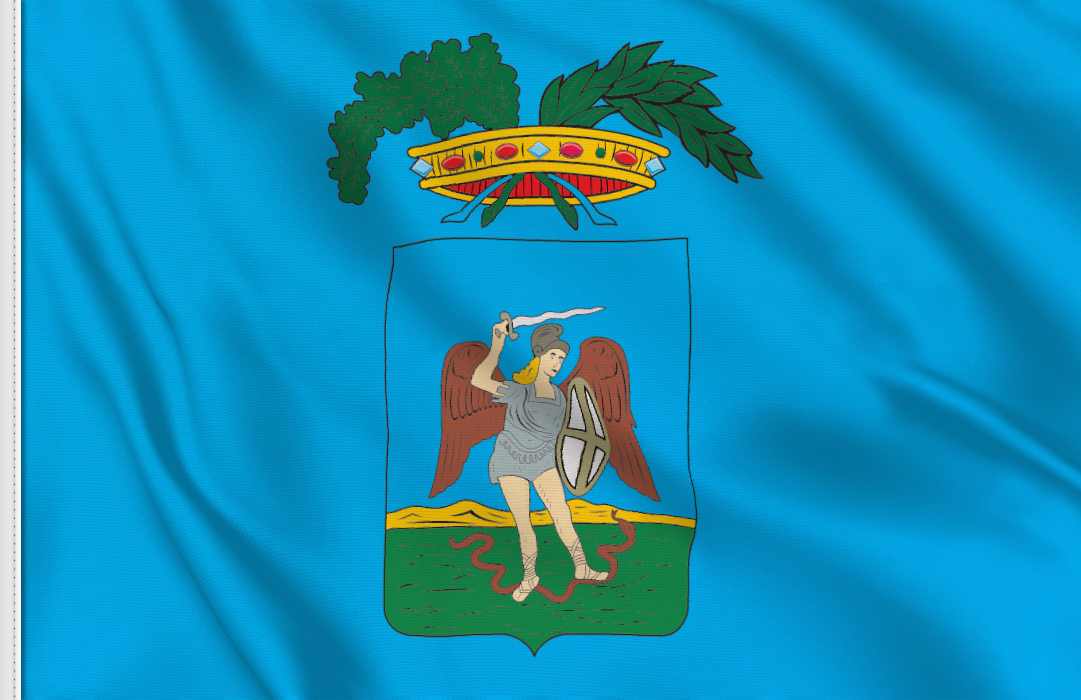 fahne Foggia Provinz, flagge von Foggia