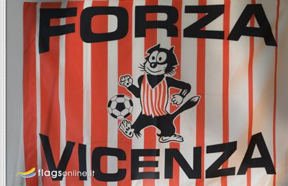 fahne Vicenza Calcio, flagge von Vicenza