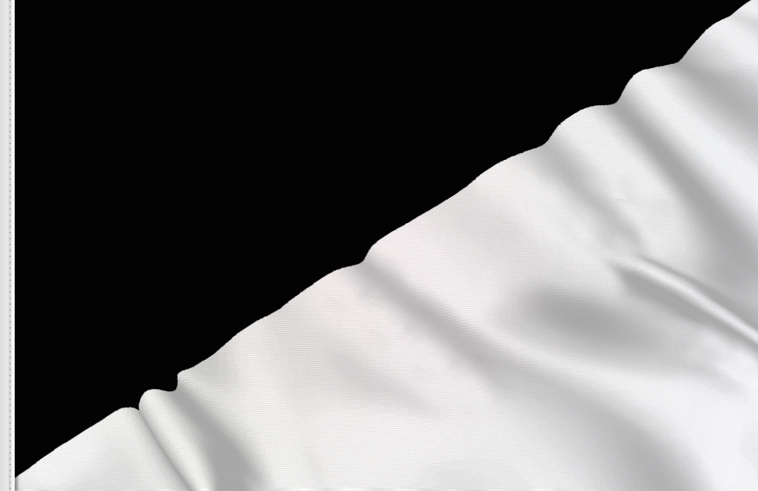 fahne schwarz- weisse diagonal, flagge diagonal schwarz-weiße