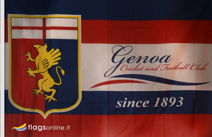 Official CFC Genoa flag