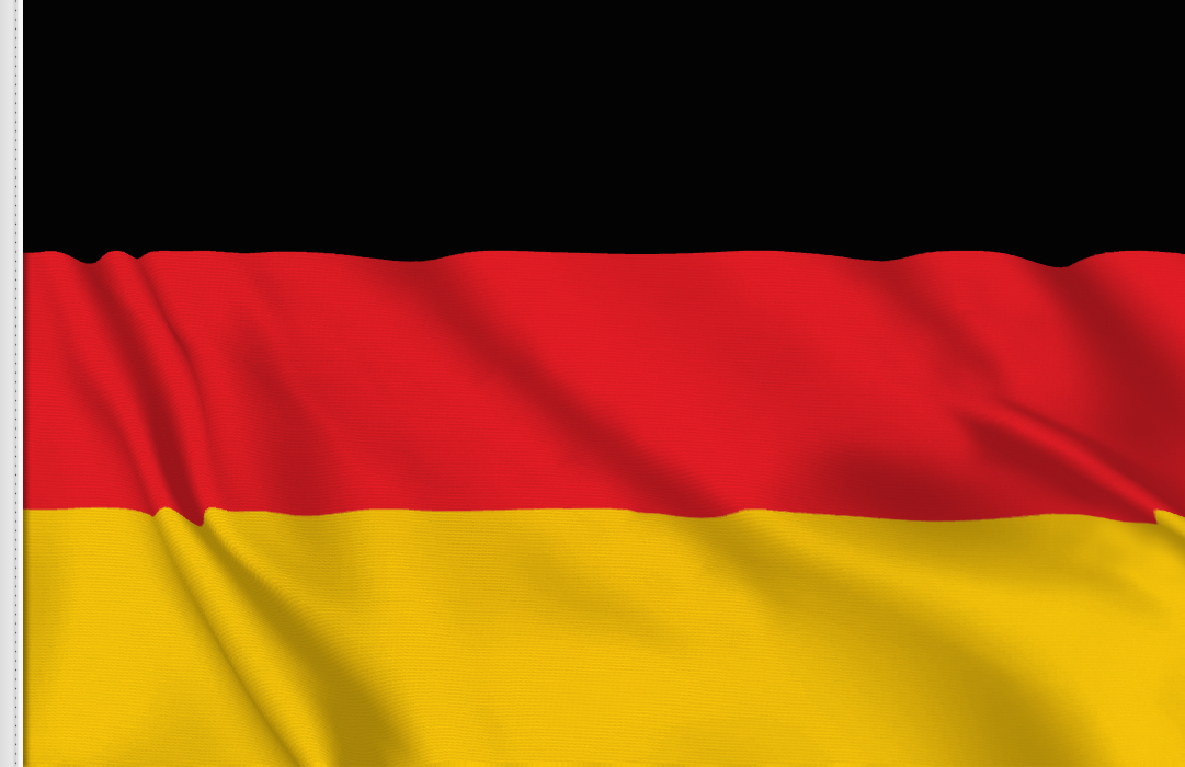 flag sticker of Germany
