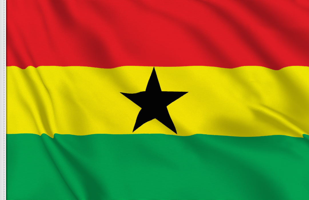 Bandiera Adesiva Gana