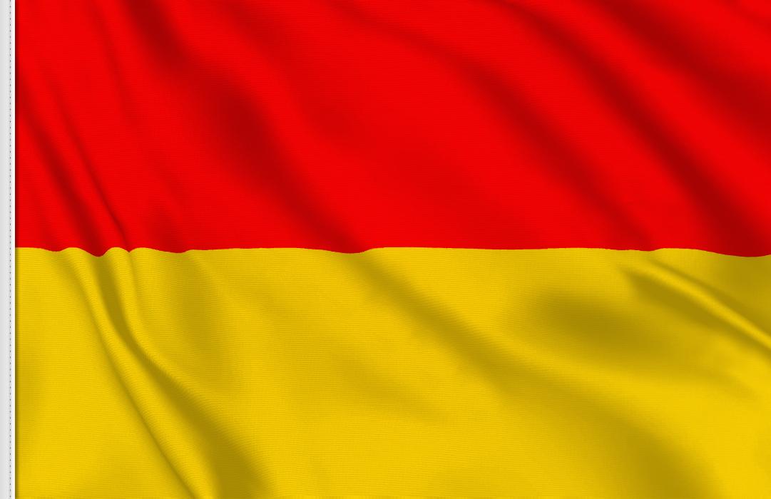 rouge et jaune-