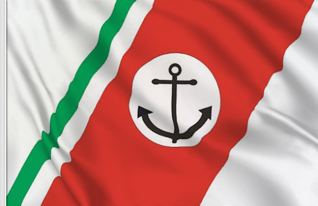 Guardia costera italian flag