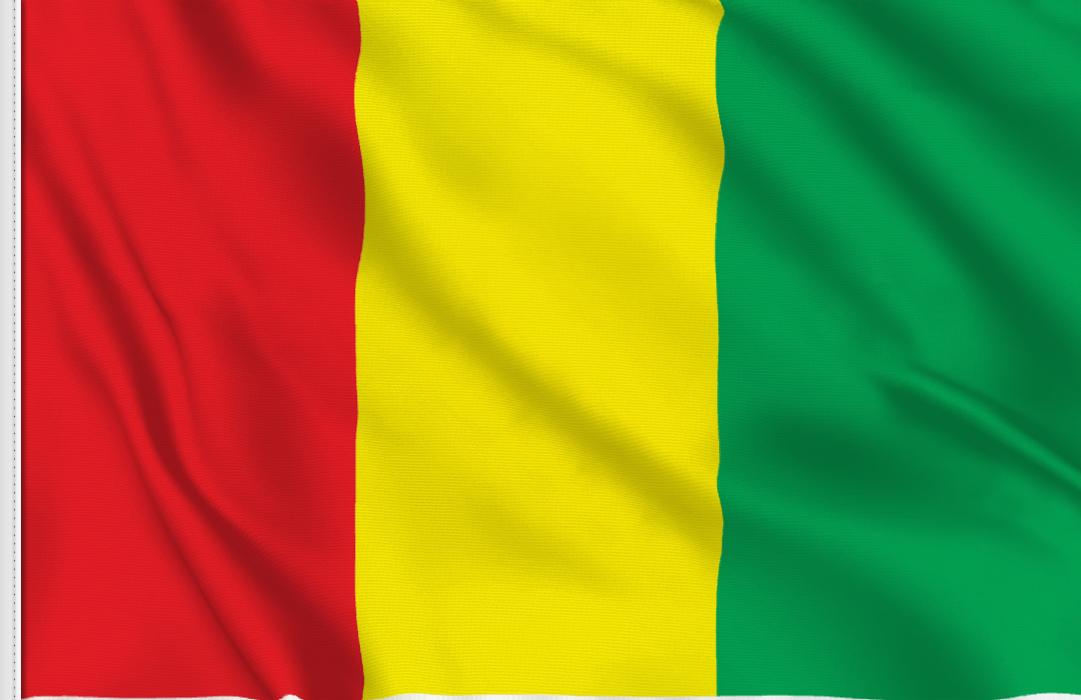 Bandiera Adesiva Guinea