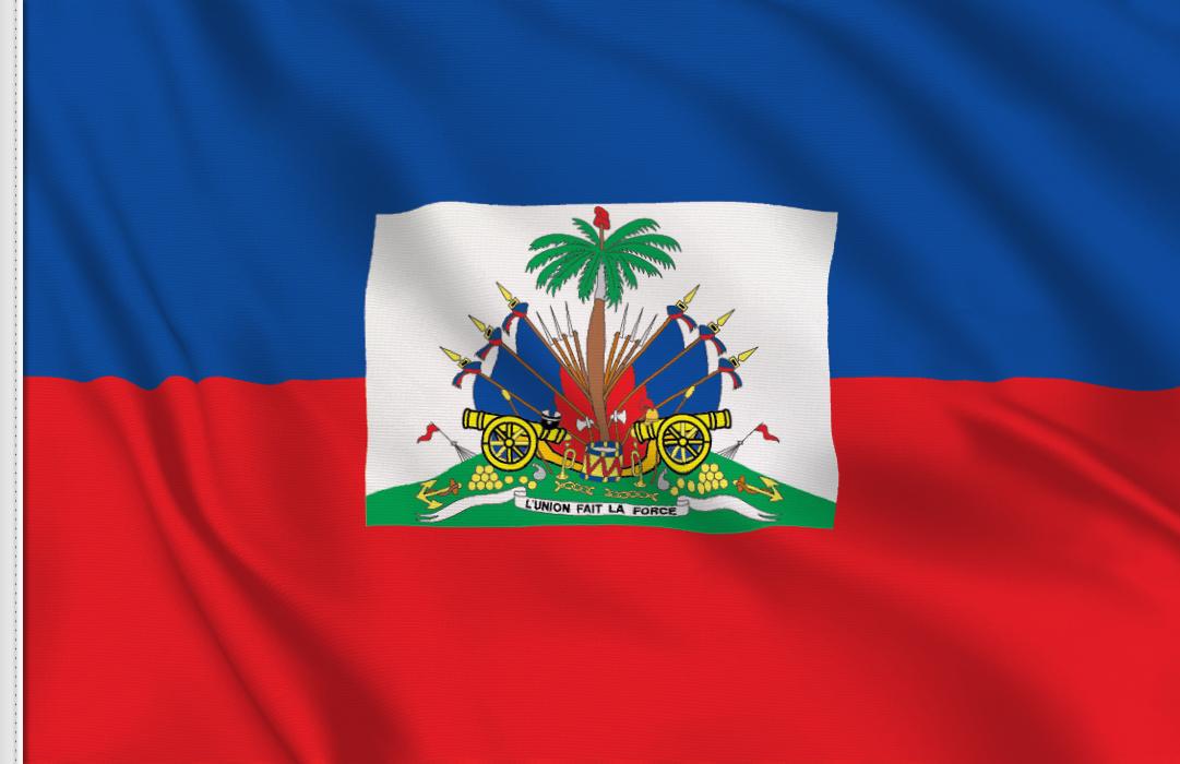 Haiti flag 3d