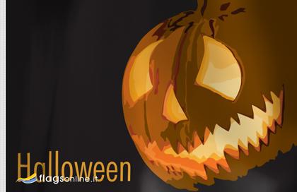 fahne Halloween Lanterne, flagge von Halloween