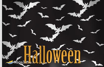 fahne Halloween Fledermaus, flagge von Halloween