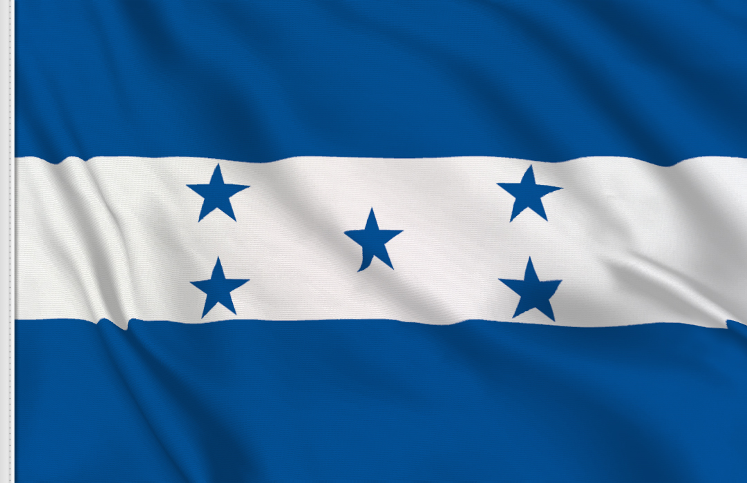 Flag sticker of Honduras