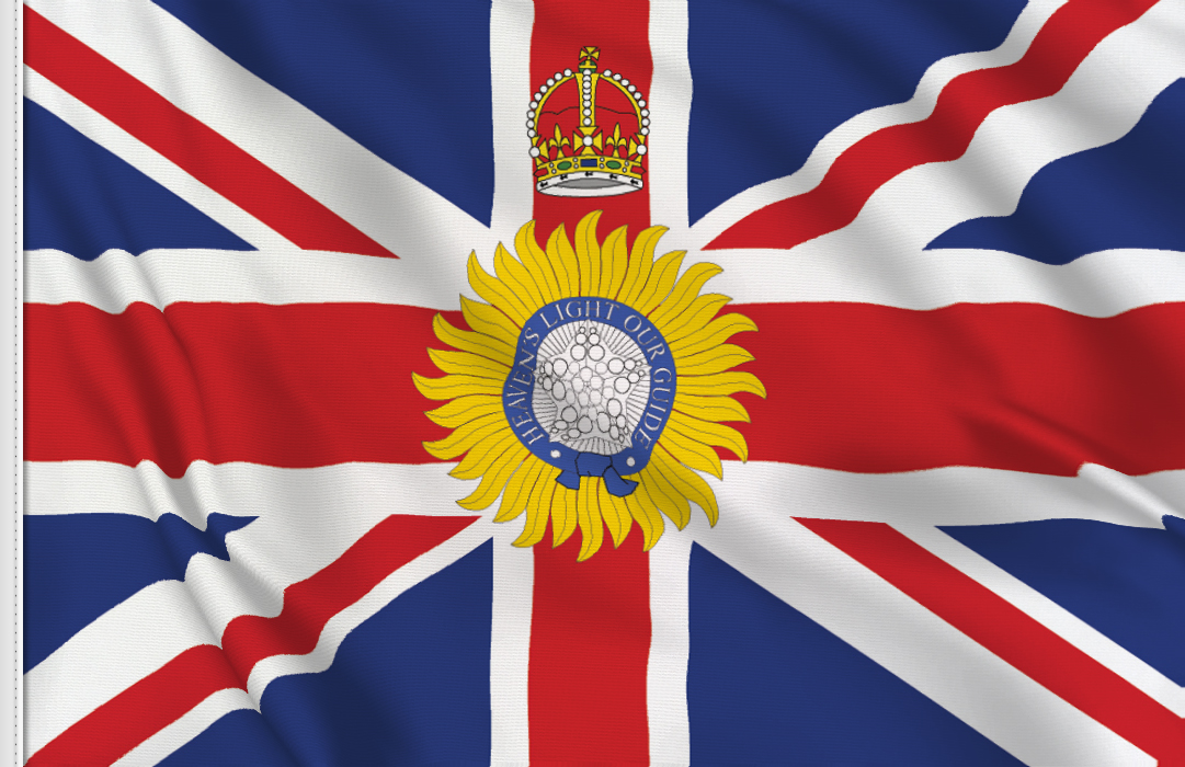 British Indian Governor flag