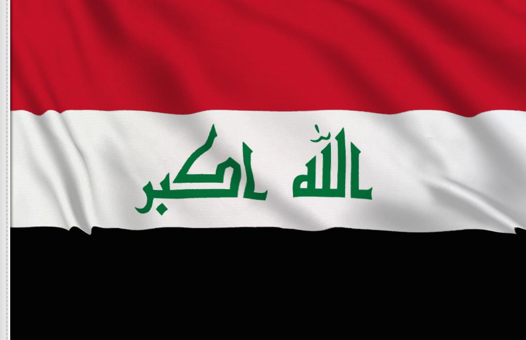 Irak 1991-2008 aufkleber fahne