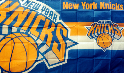 fahne New York Knicks, flagge von Knicks
