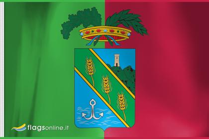 fahne Latina-Provinz, flagge der Provinz Latina