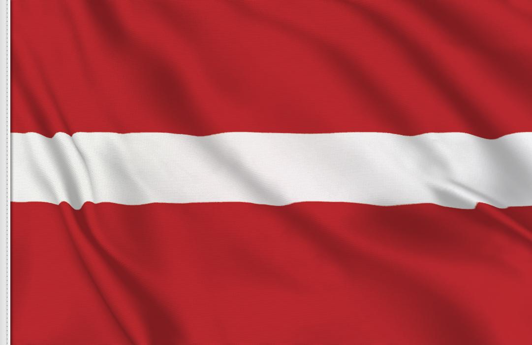 Bandiera Adesiva Lettonia
