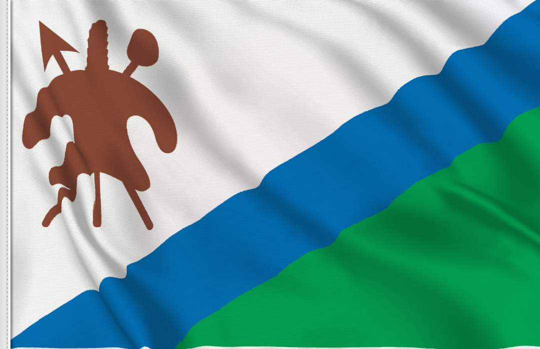 Lesotho table flag