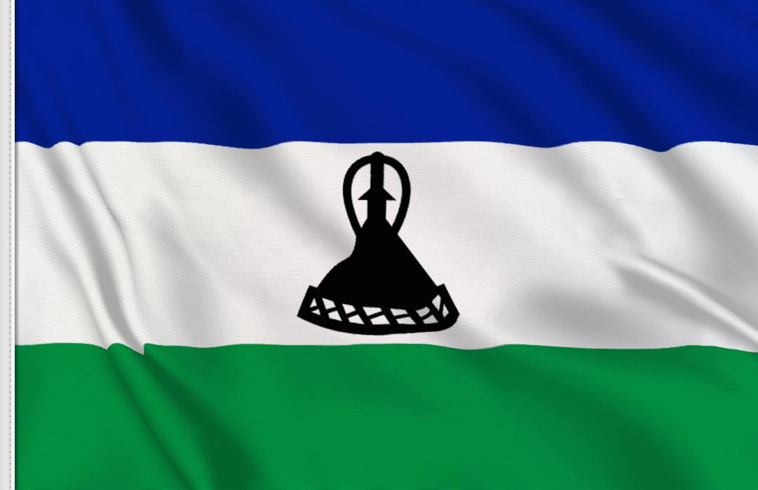fahne Lesotho 006, flagge von Lesotho