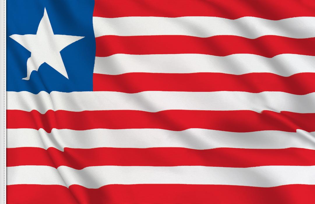 Tischfahne  Liberia