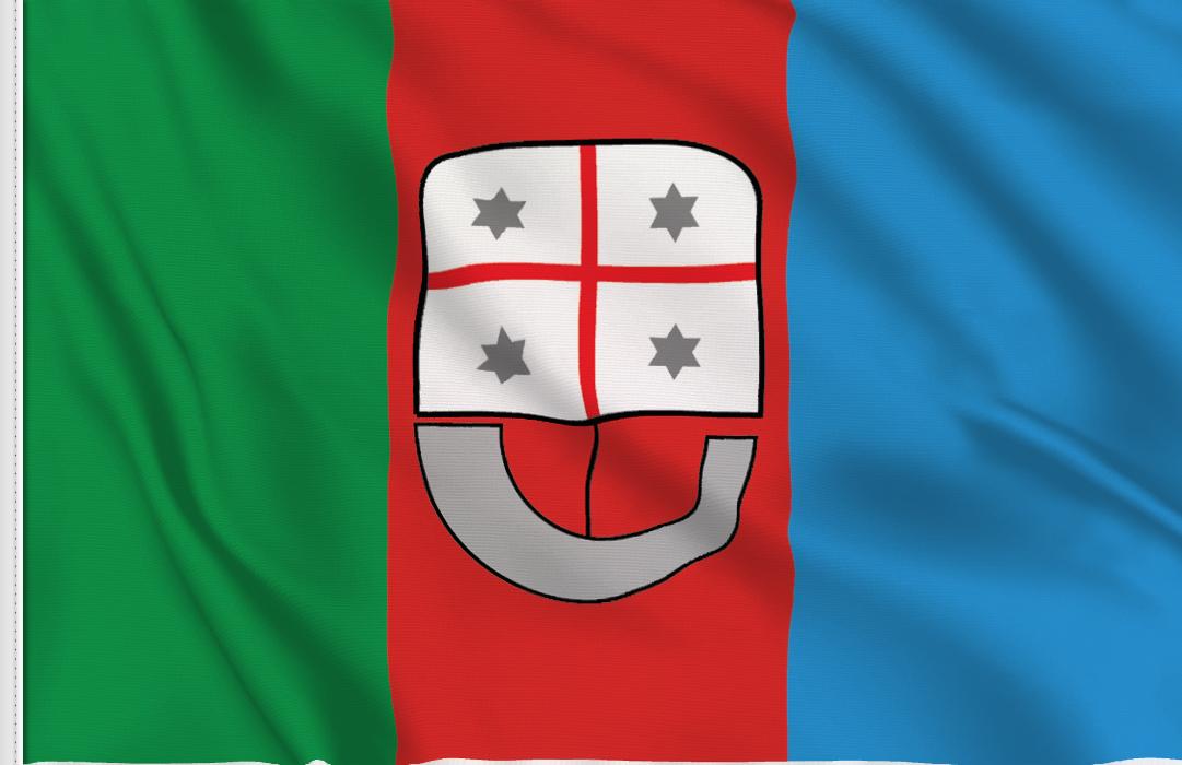 Ligurien aufkleber fahne