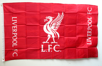 Liverpool Football Club official flag