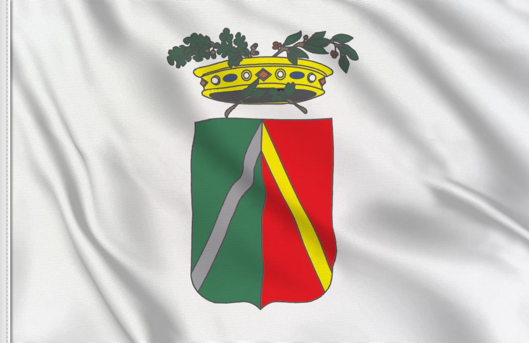 fahne Lodi-Provinz, flagge der Provinz Lodi
